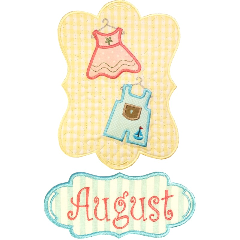 Sew Seasonal - August