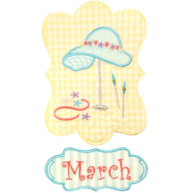 Sew Seasonal - March
