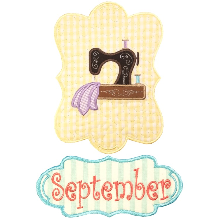 Sew Seasonal - September