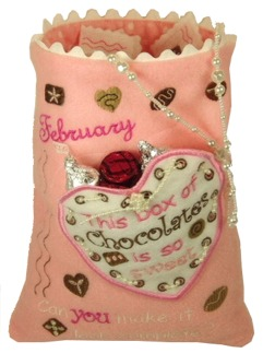 Valentine Puzzle Bag Instructions
